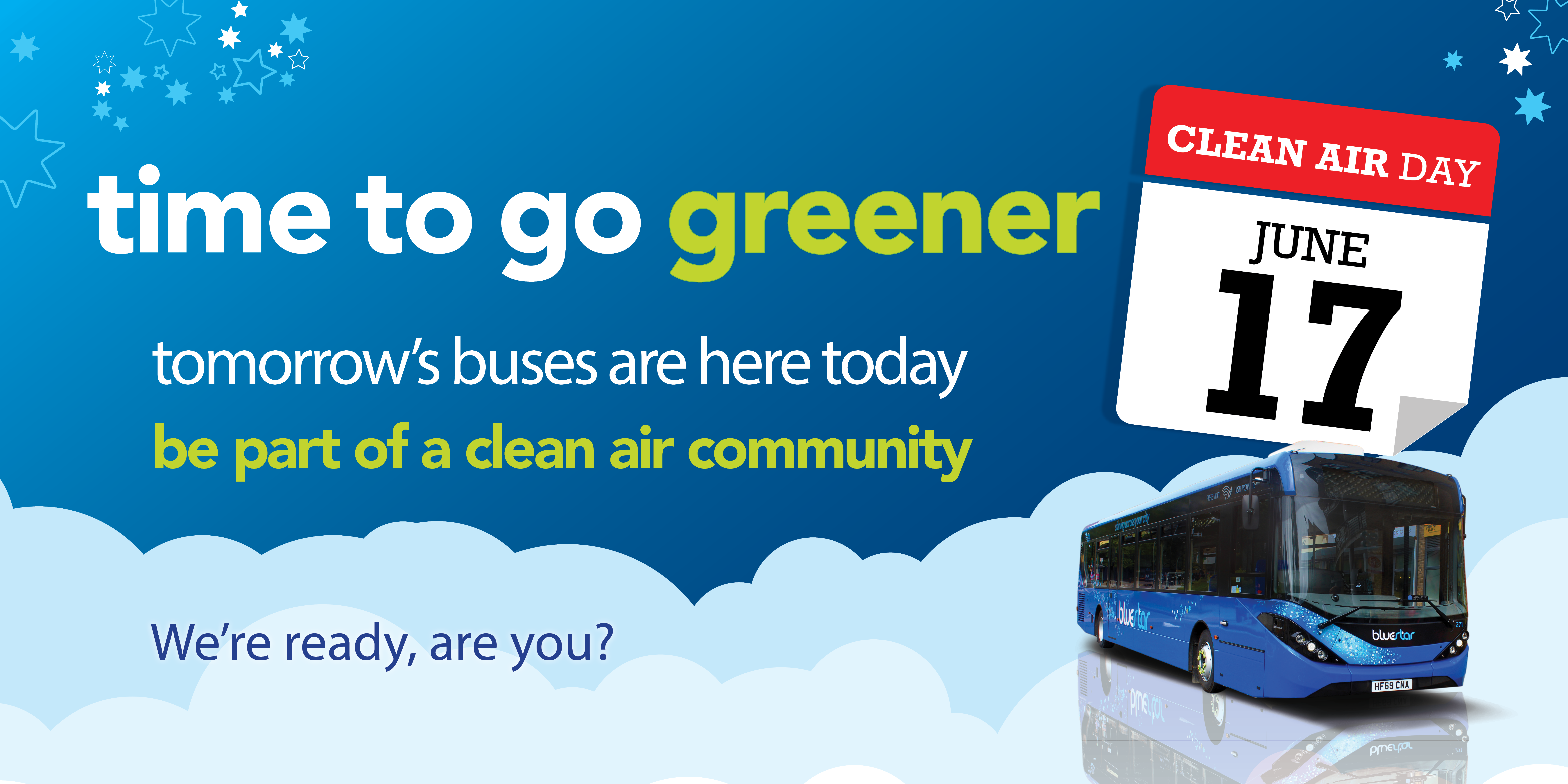 A promotional image for Clean Air Day