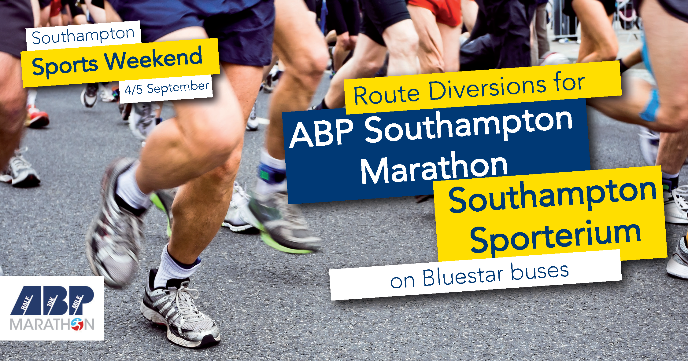 southampton sports weekend 4/5 september route diversions on bluestar buses